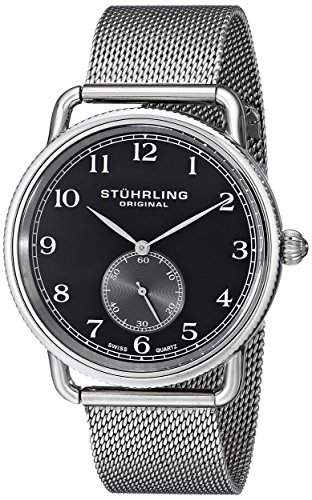 Stuhrling Original Herren-Armbanduhr Man Classique 207M Analog Quarz