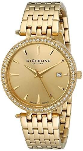 Stuhrling Original Damen-Armbanduhr Garland Analog Quarz Edelstahl 57903