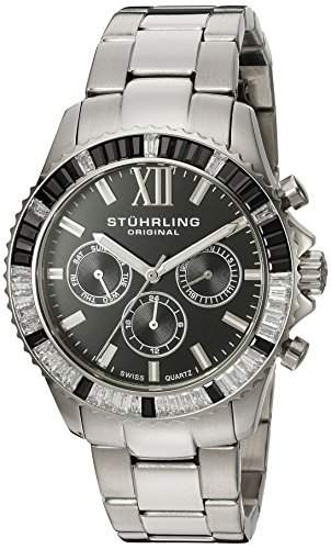 Stuhrling Original Damen-Armbanduhr Coronia 591 Analog Quarz Edelstahl 59102