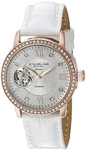 Stuhrling Original Damen-Armbanduhr Memoire Analog Automatik 71003