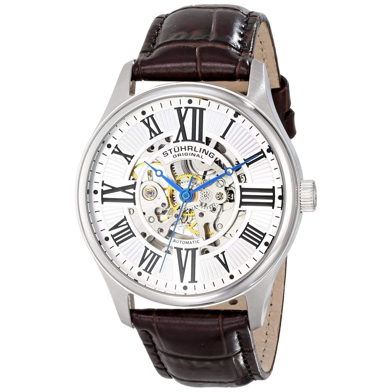 Stuhrling Original Herren-Armbanduhr Atrium Analog Automatik 74701