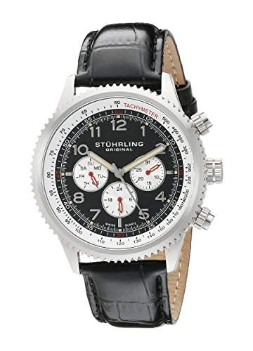 Stuhrling Original Herren-Armbanduhr Man Analog Quarz 858L01