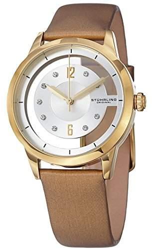 Stuhrling Original Damen-Armbanduhr Winchester Analog Quarz 946L03