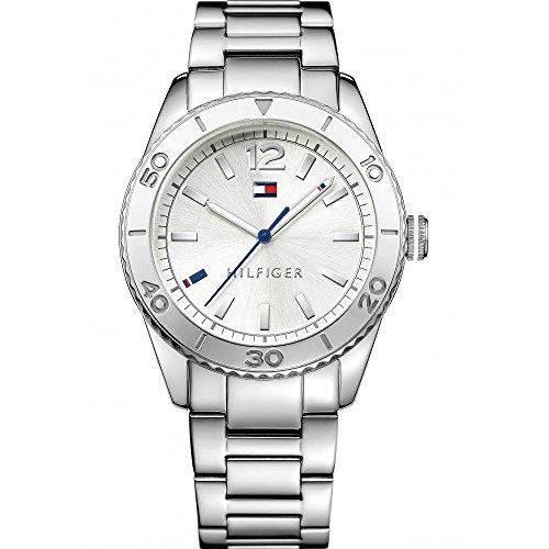 Tommy Hilfiger Damen-Armbanduhr Analog Quarz Edelstahl 1781267