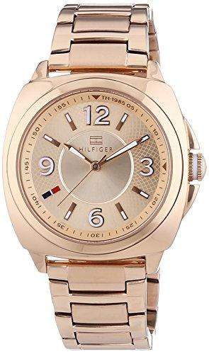 Tommy Hilfiger Damen-Armbanduhr Sport Luxery Analog Quarz Edelstahl beschichtet 1781341
