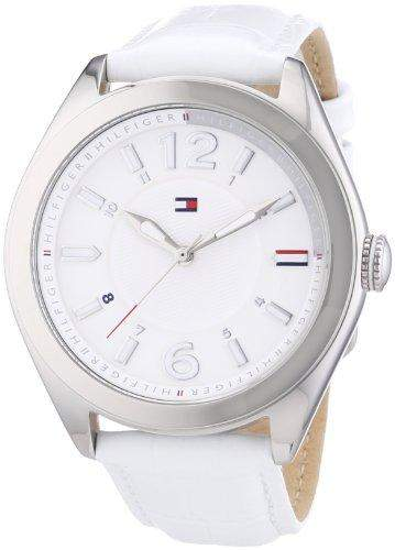 Tommy Hilfiger Damen-Armbanduhr Casual Sport Analog Quarz Leder 1781364