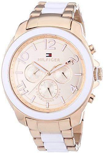 Tommy Hilfiger Damen-Armbanduhr Sport Luxury Analog Quarz 1781393