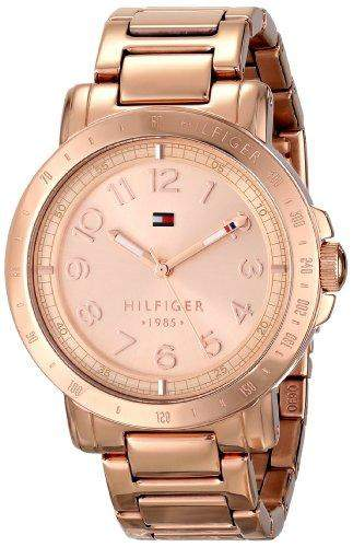 Tommy Hilfiger Damen 1781396 Analog Display Quartz Rose Gold Armbanduhr