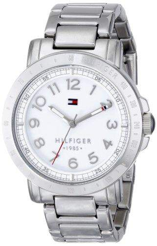Tommy Hilfiger Damen 1781397 Analog Display Quartz Silver Armbanduhr
