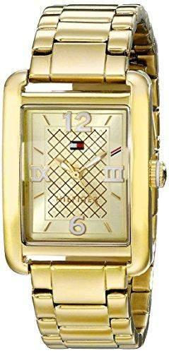 Tommy Hilfiger Damen 1781404 Analog Display Quartz Gold Armbanduhr