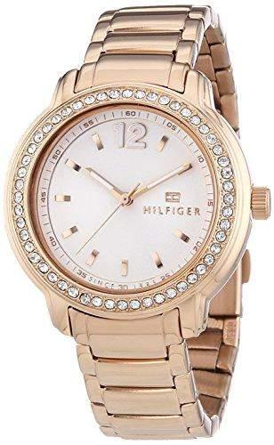 Tommy Hilfiger Watches Damen-Armbanduhr CALLIE Analog Quarz Edelstahl beschichtet 1781468