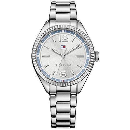 Tommy Hilfiger Damen-Armbanduhr Analog Quarz Edelstahl 1781519