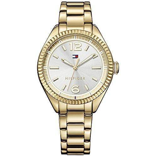 Tommy Hilfiger 1781520 CHRISSY Uhr Damenuhr Edelstahl 30m Analog gold
