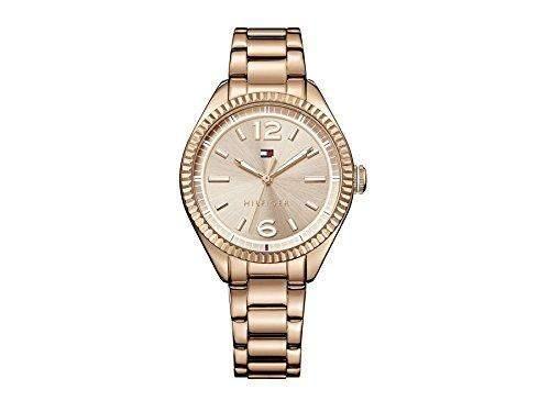 Tommy Hilfiger 1781521 CHRISSY Uhr Damenuhr Edelstahl 30m Analog rosé