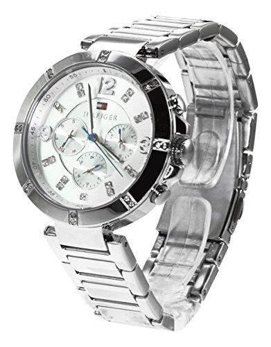 Tommy Hilfiger Damen-Armbanduhr Analog Quarz Edelstahl 1781532