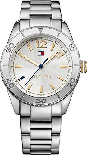 Tommy Hilfiger Damen-Armbanduhr Analog Quarz Edelstahl 1781566