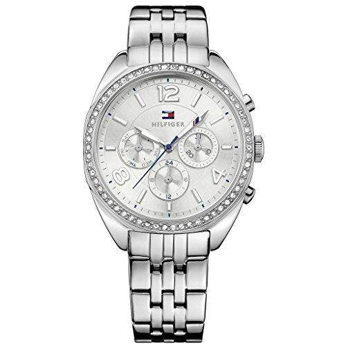 Tommy Hilfiger Damen-Armbanduhr Analog Quarz Edelstahl 1781571