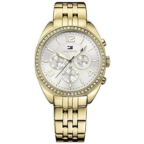 Tommy Hilfiger Damen-Armbanduhr Analog Quarz Edelstahl beschichtet 1781573