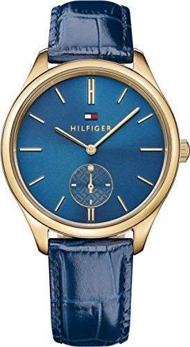 Tommy Hilfiger Damen-Armbanduhr Analog Quarz Leder 1781575