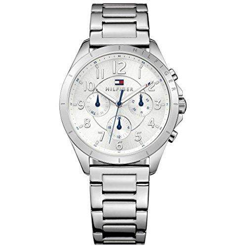 Tommy Hilfiger Damen-Armbanduhr Analog Quarz Edelstahl 1781605