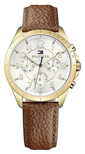 Tommy Hilfiger Damen-Armbanduhr Analog Quarz Leder 1781608