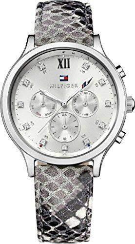 Tommy Hilfiger Damen-Armbanduhr Analog Quarz Leder 1781615