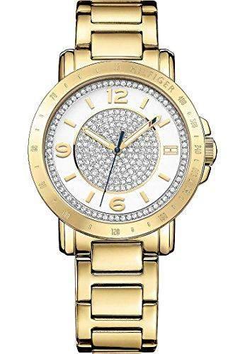 Tommy Hilfiger Damen-Armbanduhr Analog Quarz Edelstahl beschichtet 1781623