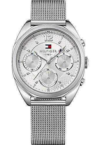 Tommy Hilfiger Damen-Armbanduhr Analog Quarz Edelstahl 1781628