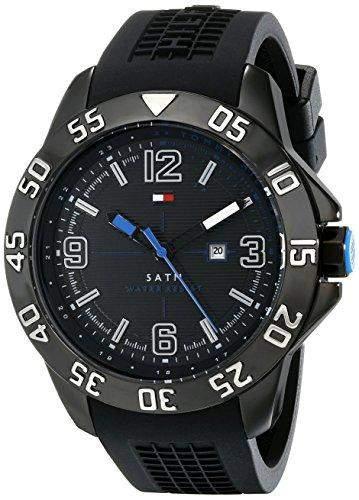 Tommy Hilfiger Herren Analog Casual Quartz Reloj 1790983