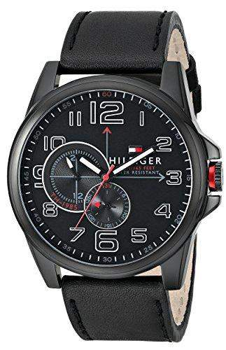 Tommy Hilfiger Herren 1791005 Analog Display Quartz Black Armbanduhr