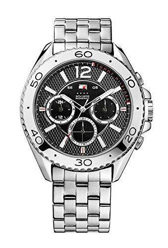Tommy Hilfiger Watches Herren-Armbanduhr XL GRANT Analog Quarz Edelstahl 1791047