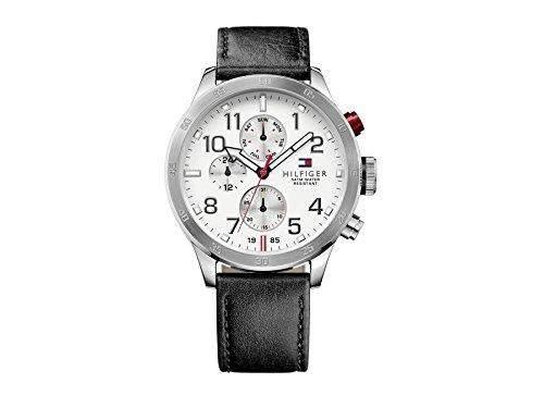 Tommy Hilfiger Herren-Armbanduhr Analog Quarz Leder 1791138