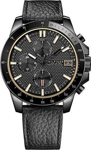 Tommy Hilfiger Herren-Armbanduhr Analog Quarz Leder 1791163