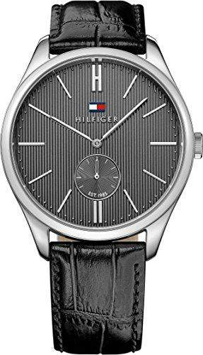 Tommy Hilfiger Herren-Armbanduhr Analog Quarz Leder 1791168