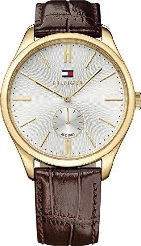 Tommy Hilfiger Herren-Armbanduhr Analog Quarz Leder 1791170