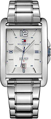 Tommy Hilfiger Herren-Armbanduhr Analog Quarz Edelstahl 1791201