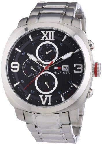 Tommy Hilfiger Herren-Armbanduhr XL Fitz Sport Luxery Analog Quarz 1790981