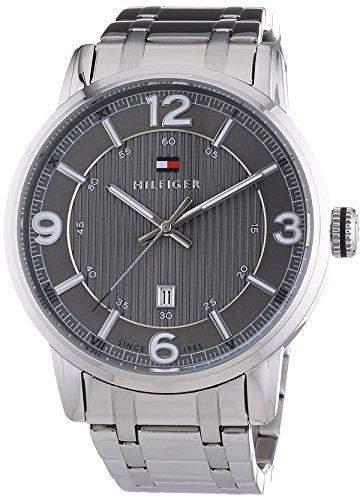 Tommy Hilfiger Watches Herren-Armbanduhr XL GEORGE Analog Quarz Edelstahl 1710345