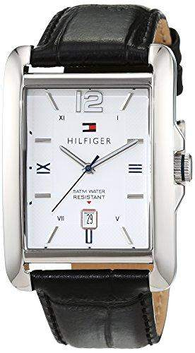 Tommy Hilfiger Herren-Armbanduhr Analog Quarz Leder 1791200