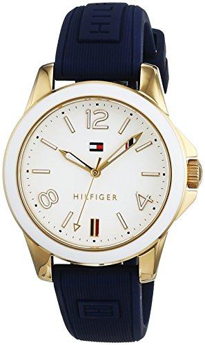 Tommy Hilfiger Damen Armbanduhr Casual Sport Analog Quarz Silikon 1781679