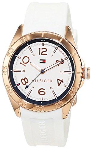Tommy Hilfiger Damen Armbanduhr Everyday Sport Analog Quarz Silikon 1781636