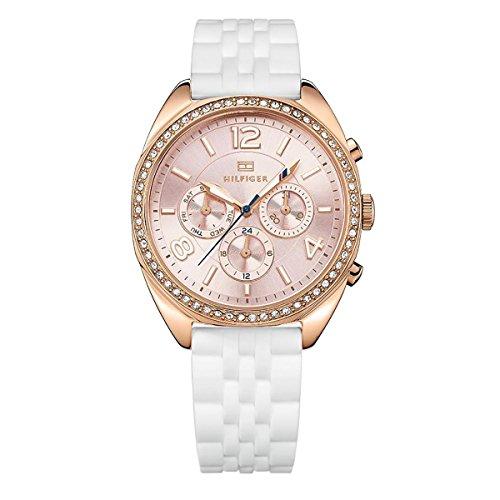 Tommy Hilfiger Damen Armbanduhr Analog Quarz Silikon 1781568