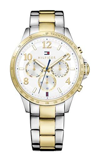 Tommy Hilfiger Damen Armbanduhr Sophisticated Sport Analog Quarz Edelstahl beschichtet 1781644