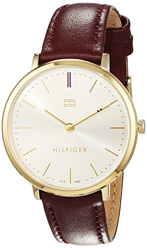 Tommy Hilfiger Damen Armbanduhr Sophisticated Sport Analog Quarz Leder 1781692