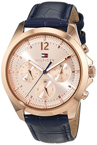 Tommy Hilfiger Sophisticated Sport Analog Quarz Leder 1781703