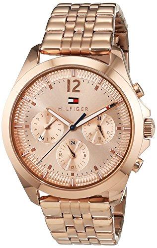 Tommy Hilfiger Damen Armbanduhr Sophisticated Sport Analog Quarz Edelstahl beschichtet 1781700
