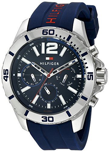 Tommy Hilfiger Herren Analog Casual Quartz Reloj 1791142