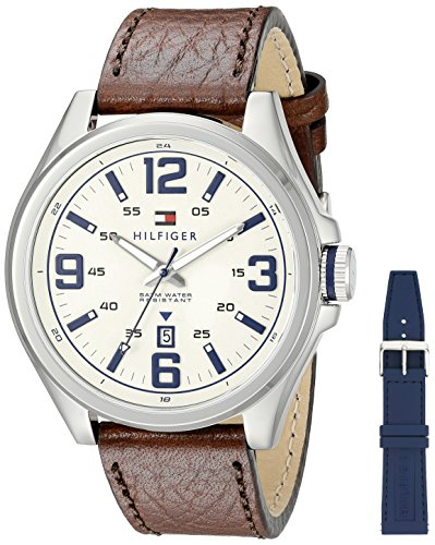 Tommy Hilfiger Herren Ryan Analog Casual Quartz Reloj 1791207