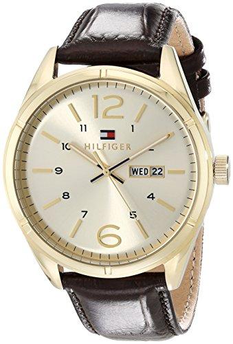 Tommy Hilfiger Herren Armbanduhr Analog Quarz Leder 1791059
