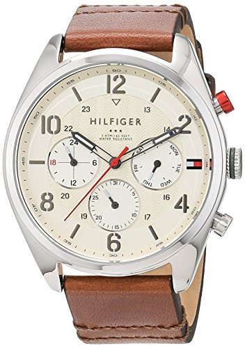 Tommy Hilfiger Analog Quarz Leder 1791208